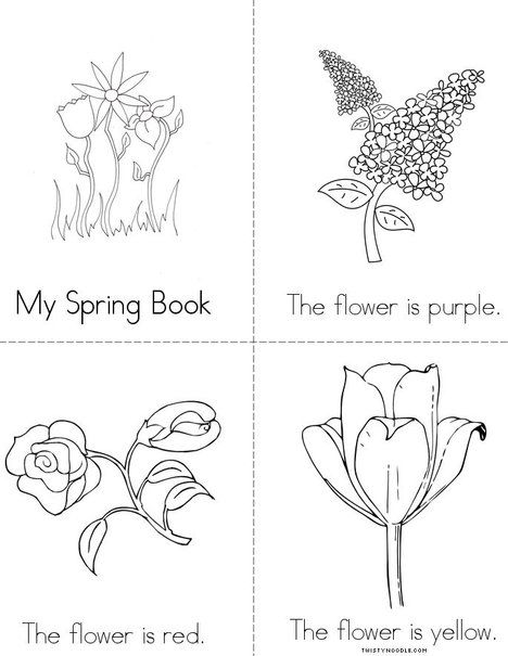 mini books coloring pages - photo#42