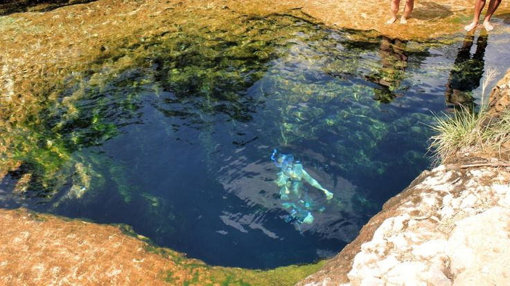 When you're in Texas and it's the thick of summer, you need some cold water—stat. In Hays County, Texas (about an hour southwest of Austin) sits a popular natural swimming spot: Jacob's Well. Yes, it's refreshing and beautiful, but it's also a never-ending black hole that has lured several divers to their deaths.