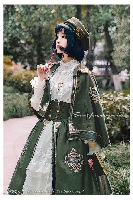 【予約】Unfinished 刺繍ケープ Surfacespell サーフェイセスペル