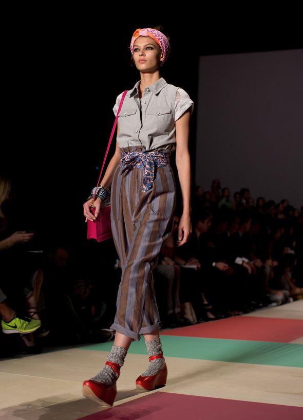 MMJB0611Web: Mixed Patterns, Fashion Prints, Marcjacobs, Marc Jacobs, Jacobs Ss2013, Jacobs Ss13, Jacobs Pants, Dem Pants, Patterns Mixed