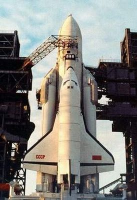 Soviet Space Shuttle BURAN