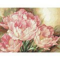 Dimensions 'Tulip Trio' Counted Cross Stitch Kit | Overstock.com
