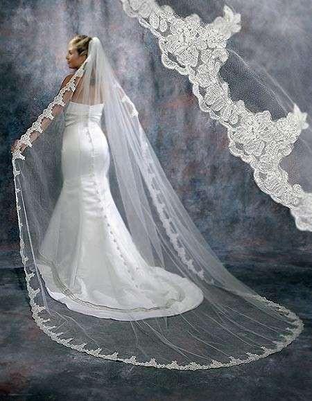 Velos de novia: Fotos de diseños (12/20) | Ella Hoy