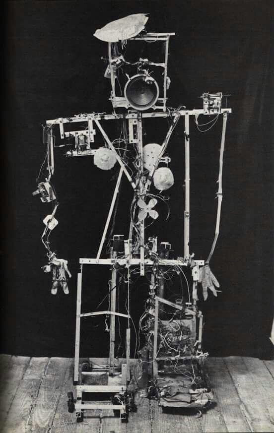 "Nam June Paik and Shuya Abe, ""Robot K-456"", Japan, 1964"