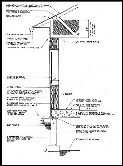 Passive Solar Home Building Plans   Zero Energy Home Designs   ZEH Part 64