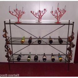 Wrought Iron Consolle Furniture. Customize Realizations. 300
