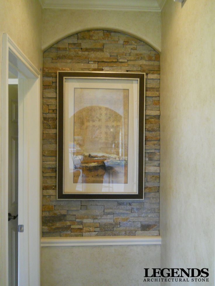 Art Niche - Virginia Ledgestone through Legends Stone.