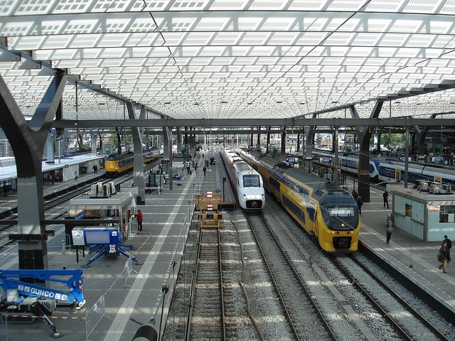 Renewed Central Station of Rotterdam
