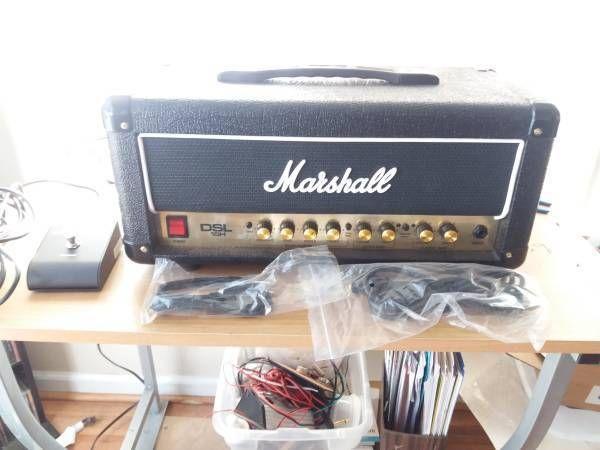 Marshall DSL15H 15-Watt All-Tube Guitar Amplifier Head