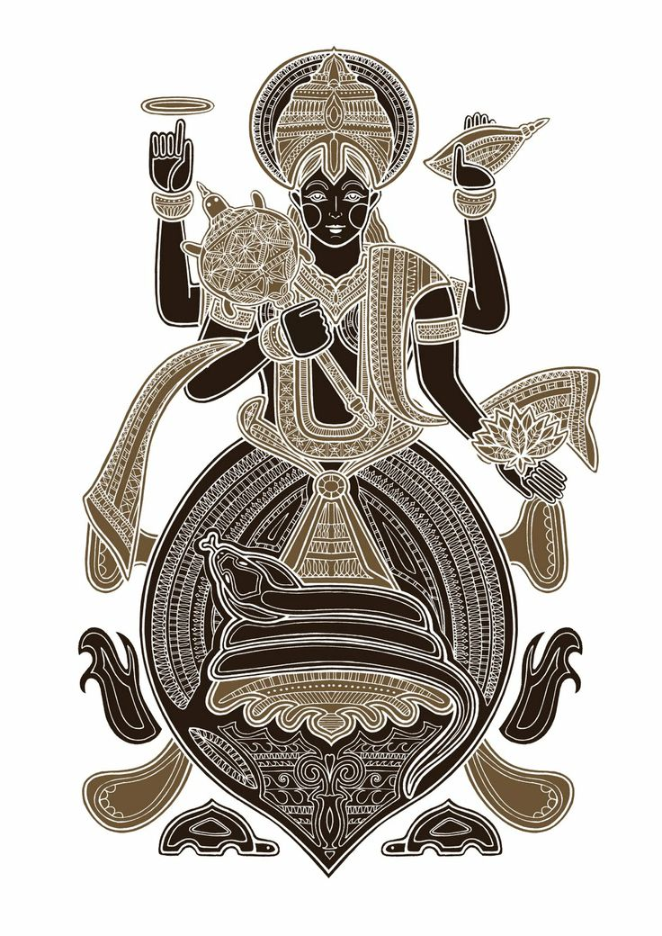 Kurma (the turtle) one of the first two avatars of Lord Vishnu who is the maintainer/ preserver of the universe. All 10 of his avatars represent the past and future forms in which he has come to restore the balance of good and evil. By Poonam Mistry