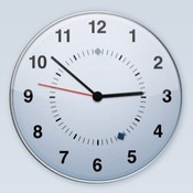 """Time  By Werner Freytag    A """"timeless"""" clock with calendar, hour signal and free adjustable alarm. For iPhone, iPod touch and iPad.    The clock syncs using NTP, so you have always the accurate time."""