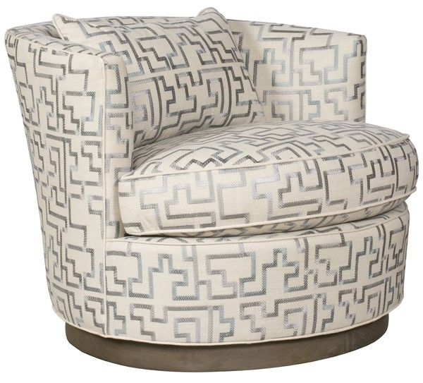 Vanguard Furniture - Our Products - W195P-SW Bernadette Swivel Chair