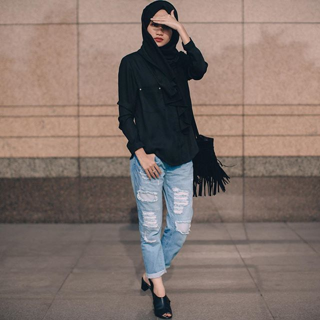 536 best Casual Hijab Style images on Pinterest | Casual ...