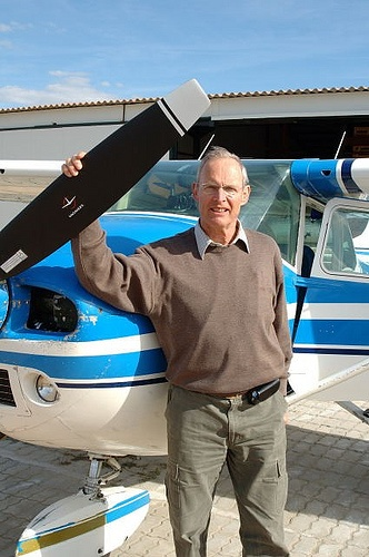 Flying Winemaker and Cessna