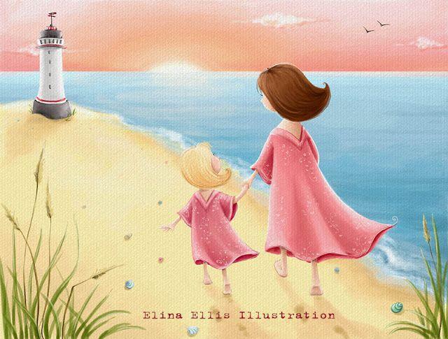 Elina Ellis Illustration: Illustration Friday