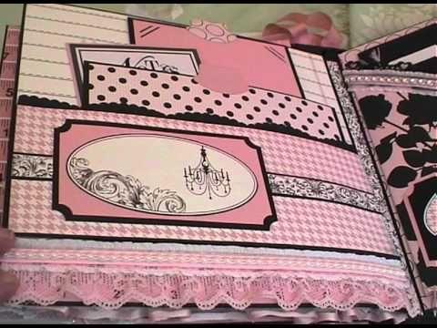 Teresa Collins Chic Bebe Girl Mini Album