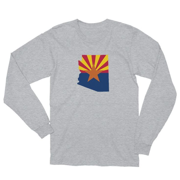 Arizona Flag Long-Sleeve Shirt