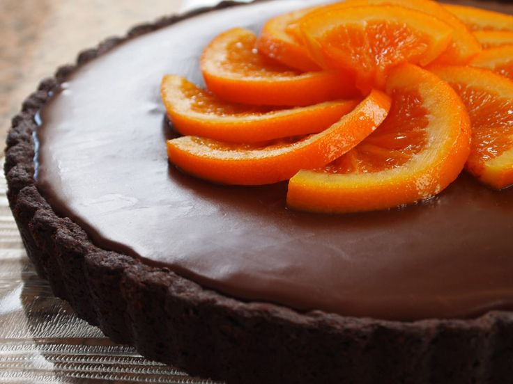 Orange Tart Recipe — Dishmaps