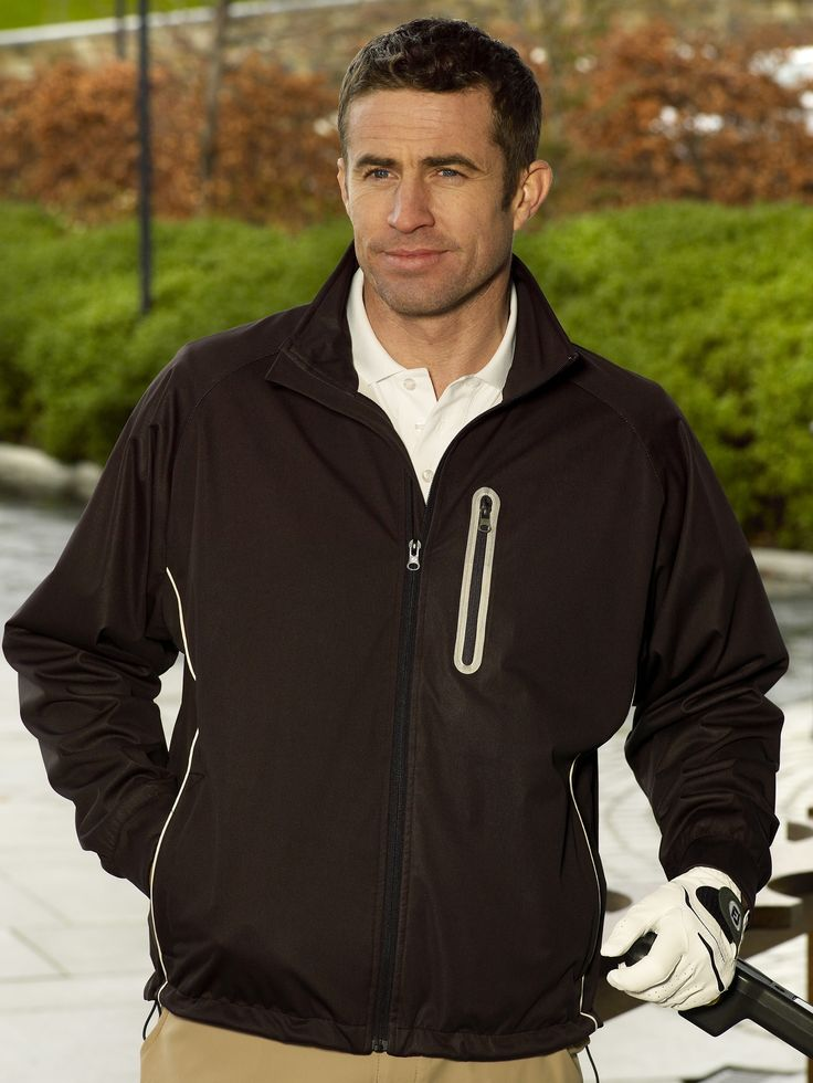 Mens Waterproof golf jacket Blair has just arrived in stock #golffashion #jackets