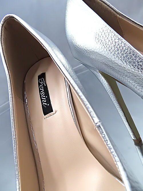 LACK SILBER Pumps HOHE Plateau VIP Damen NEU 2018 O39 Schuhe Stiletto High Heels