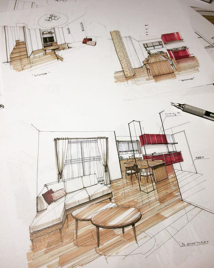 2196 best Drawing \ Sketching images on Pinterest Kitchens