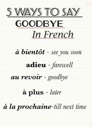 5 ways to say goodbye in french by jannyshere