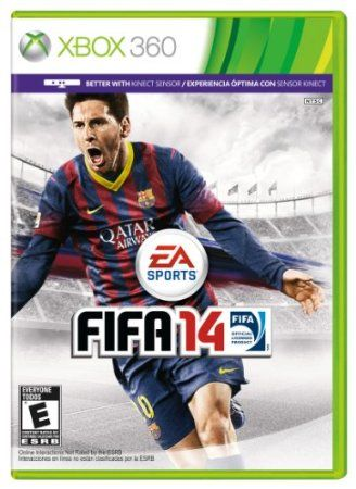 FIFA 14 - Xbox 360 - http://gamebank.in/games/fifa-14-xbox-360-xbox-360-com/  Game ScreenshotsGame DetailsBrand: Electronic ArtsCategory: GamesPlatform: Xbox 360ESRB: Rating PendingCheck All OffersAdd to Wish ListCustomer ReviewsTrade-In ListDescriptionExperience the emotion of scoring great goals in FIFA 14. The game plays the way great soccer  matches are contested, ...    #Amazoncom, #ElectronicArts, #PhysicalMedia, #Xbox360