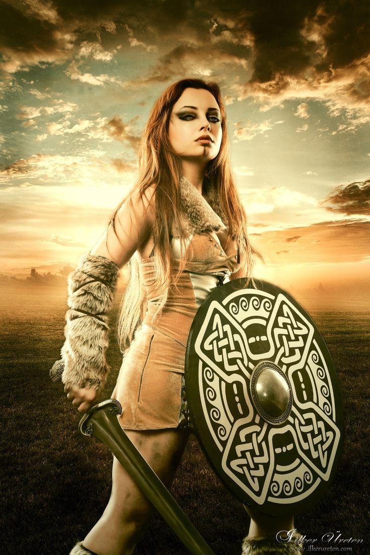Viking girl III by ilker ureten on 500px
