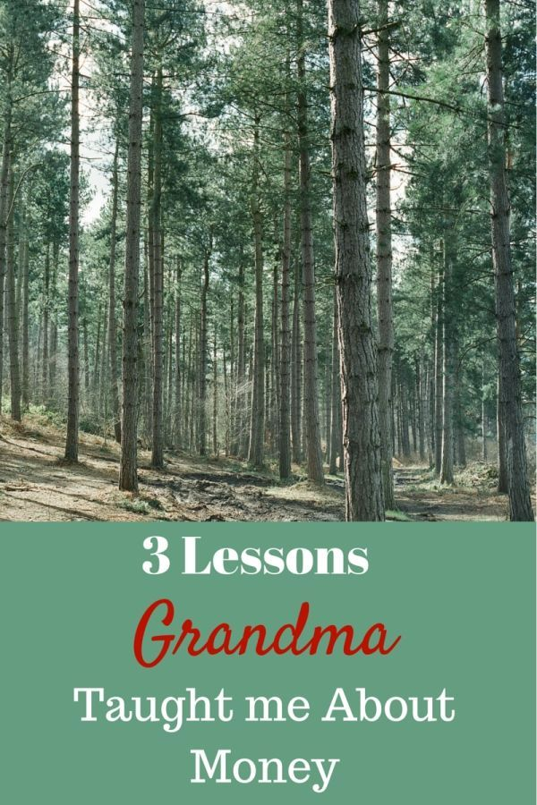 Grandma Millie has raised 9 children, and lived through the great depression & WWII. Here are 3 lessons grandma taught me about managing money.