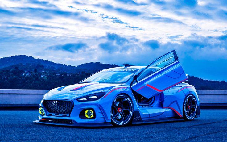 High Performance Hyundai RN30 Concept revealed at Paris Motor Show on 29th September 2016.    http://hyundai.news/eu/technology/high-performance-hyundai-n-concept-revealed-at-paris-motor-show/