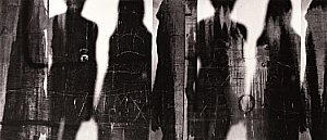 Photographer Barbara Crane (United States)    Shadow People, 1968