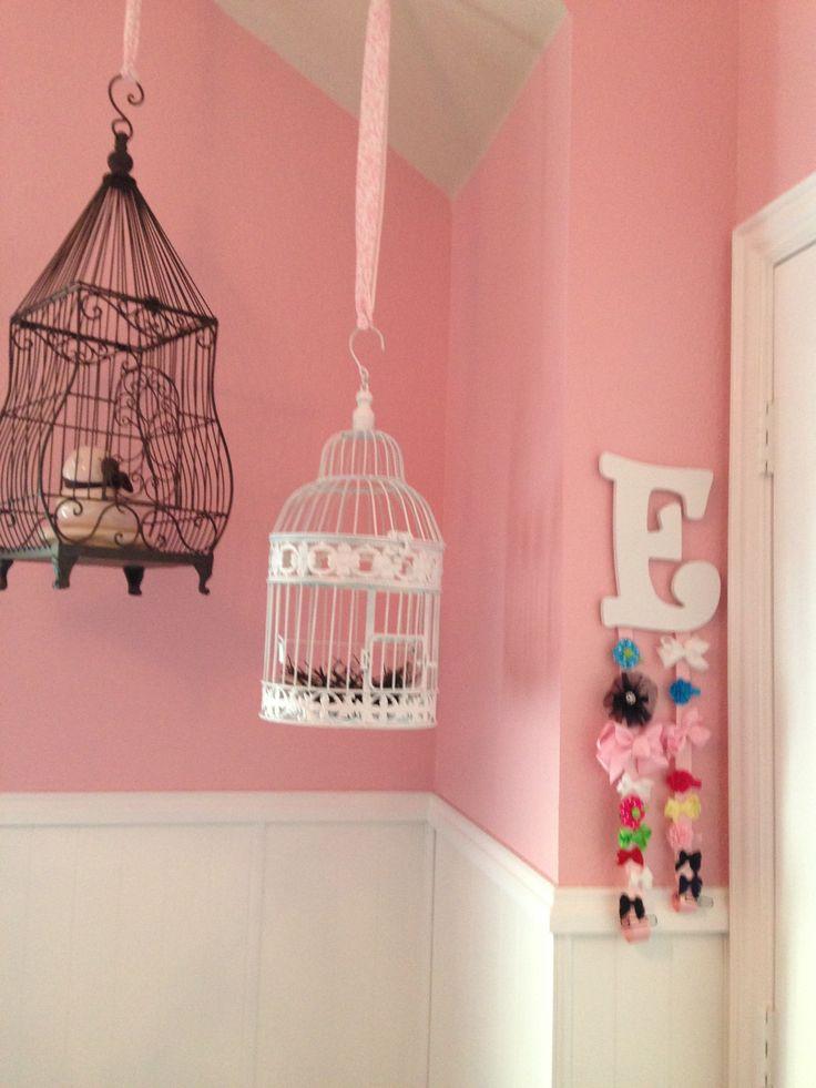 Bird nursery nursery wall decor pinterest bird for Room decor hanging