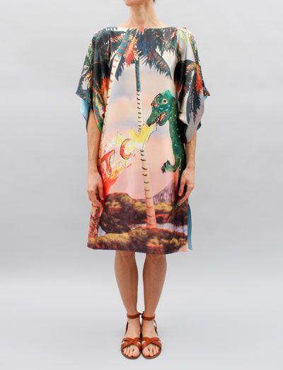 Tsumori Chisato Dress- Palm Print
