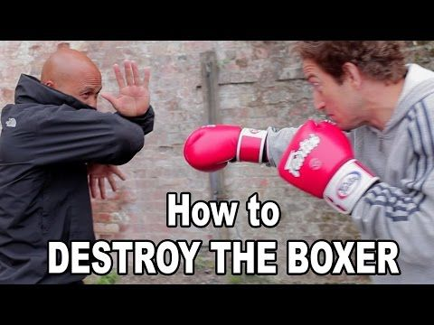 Wing Chun training - wing chun how to destroy the boxer Q36 - YouTube