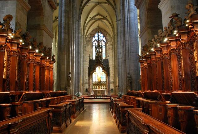 Ancient Church in Austria.