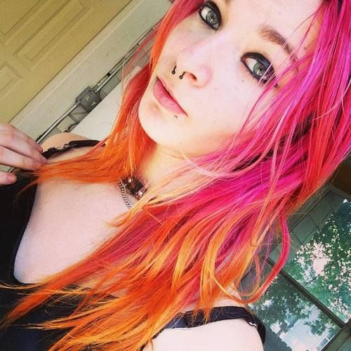 1000+ images about phoenix hair (fire/sunset/pink/red ...
