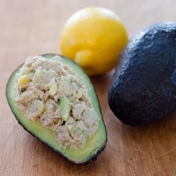 Avocado Tuna Salad - AIP auto immune friendly