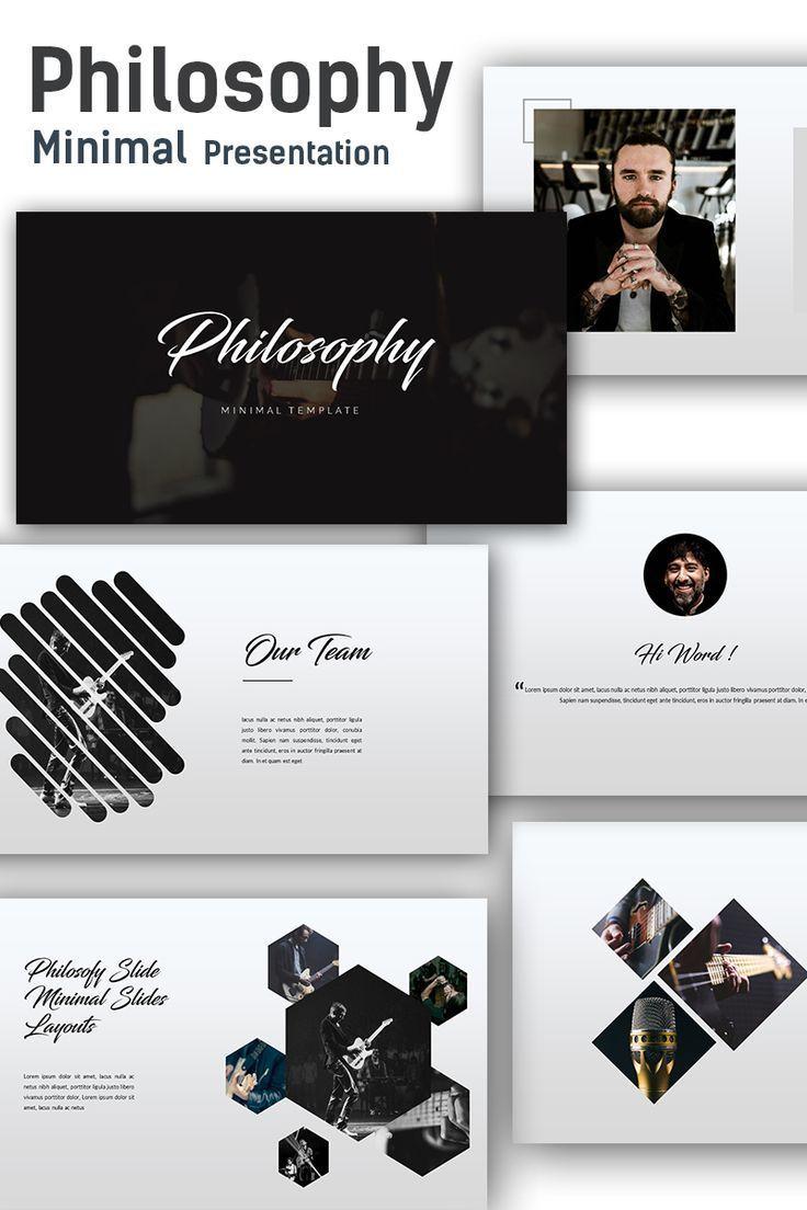Philosophy Minimal Keynote Template 68399 Dizajn Prezentacii