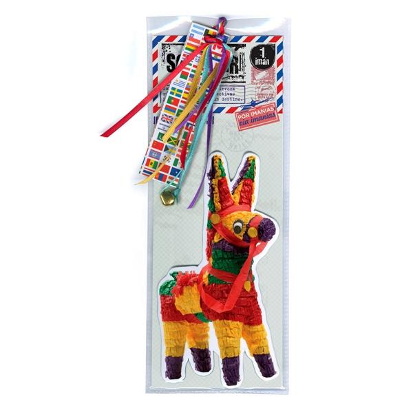 souvenir piñata imantado