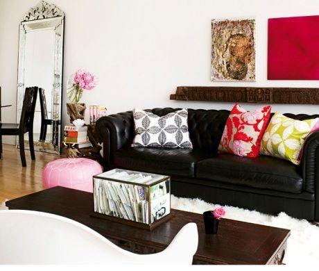 Más De 25 Ideas Increíbles Sobre Decoración Con Sofá Negro En Pinterest |  Sofá Negro, Sofá Oscuro Y Gran Sofá Part 60
