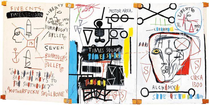 Bildergebnis für William S. Burroughs Malerei