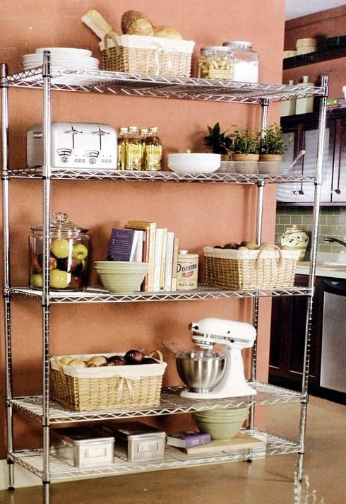 HomeGoods | Are You A Basket Case? 6 Tips from a Professional Organizer showing how baskets can help you organize your stuff!