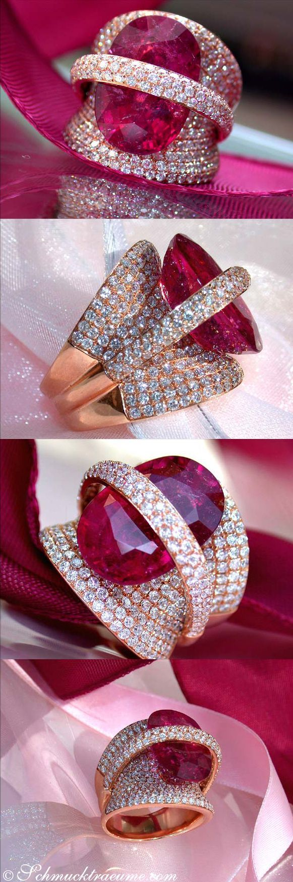 "beautyblingjewelry: "" Grand Rubellite Diam beauty bling jewelry fashion """