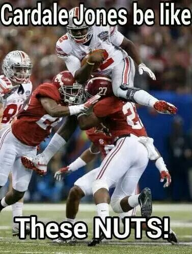 Ohio State Football Cardale Jones #12