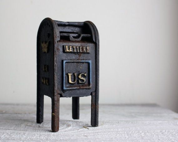 15 Best Images About Antique Mailbox Banks On Pinterest