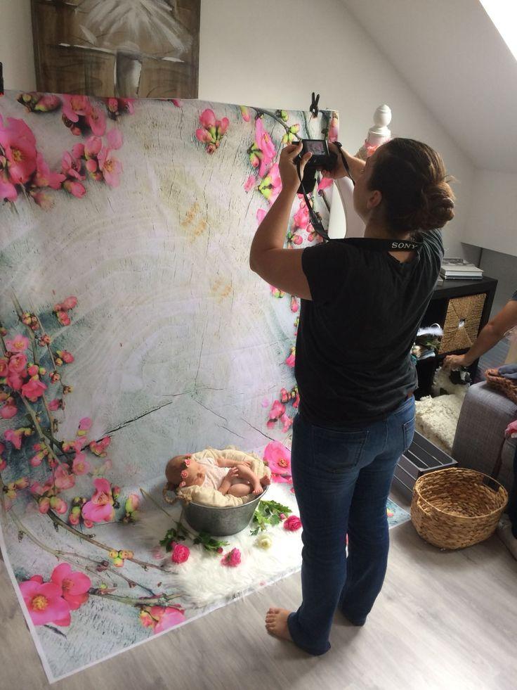 New Ideas For New Born Baby Photography : Newborn session behind the scene #newborn #newbornsession #babygirl #studio #pho…