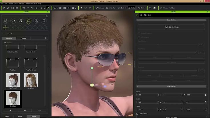 Character Creator 2 Tutorial - Mesh Editing for Accessories (& Props)