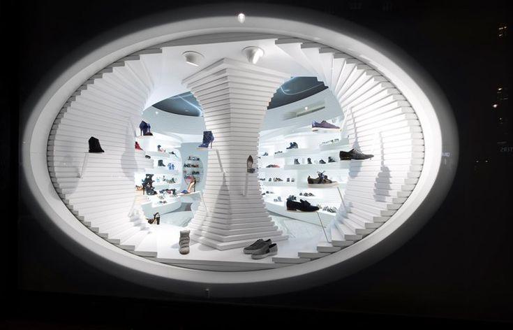 Shoebaloo Flagship Store, Amsterdam, 2014 - MVSA Architects