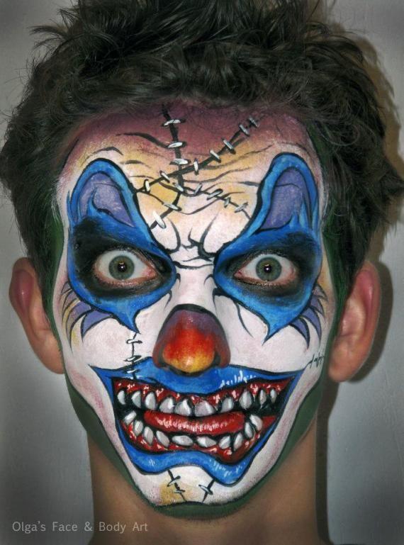 olga meleca scary clown