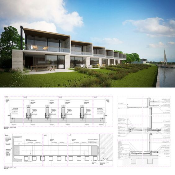 Contemporary Duplex House Design With A Plenty Of Overhang: 17 Best Ideas About Modern Townhouse On Pinterest